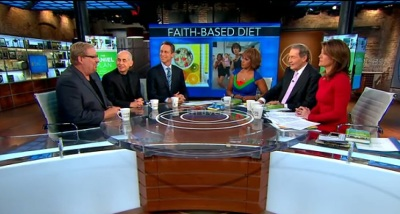 Rick Warren promotes his new book 'The Daniel Plan' on CBS' 'This Morning' show on Dec 4.