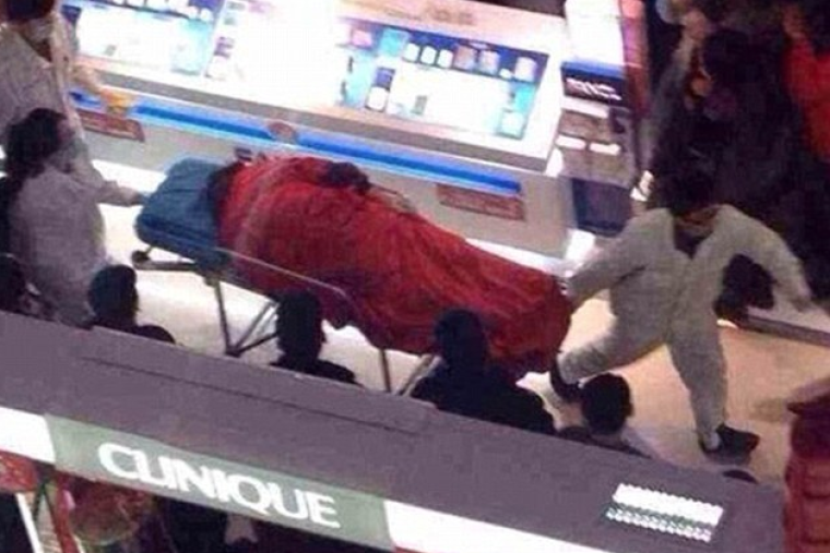 China Mall Death