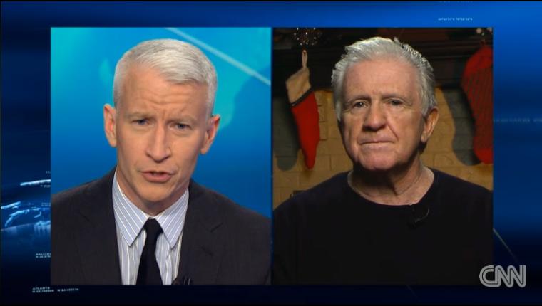 Anderson Cooper, Dick Miller