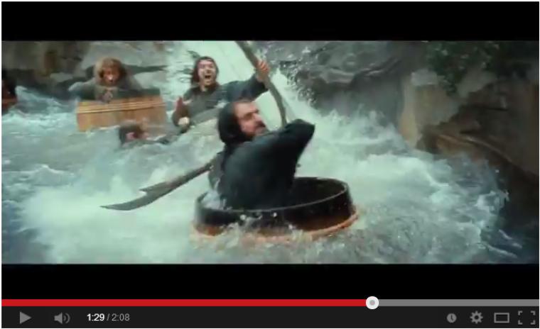 Hobbit Barrel Fighting