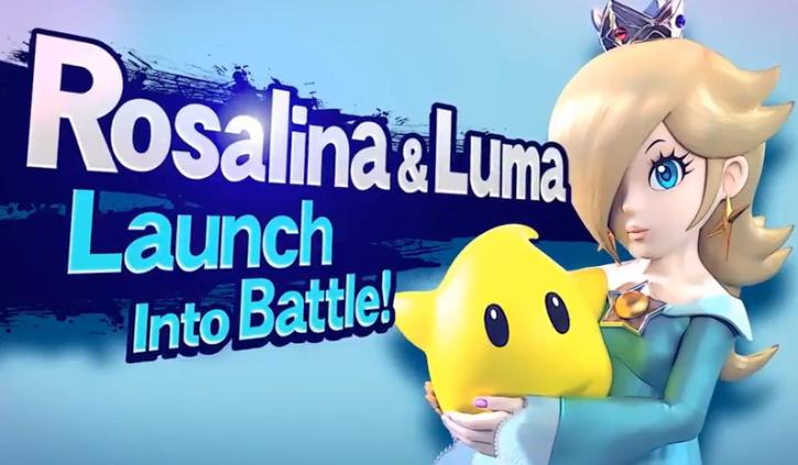 Super Smash Bros 4 Roster: Princess Rosalina with Luma