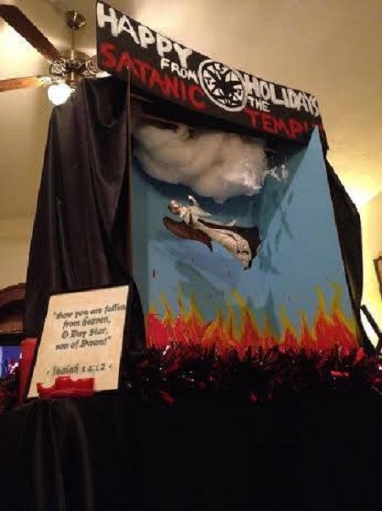 Satanic Florida Capitol Display