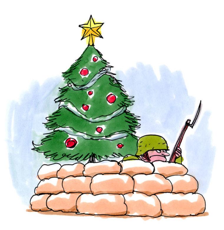 An Overzealous Christmas Warrior?