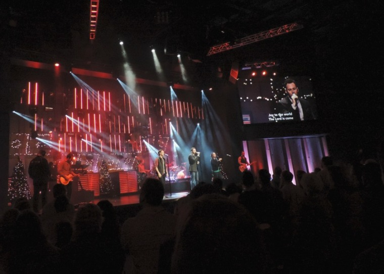 Christmas Service at North Point Church