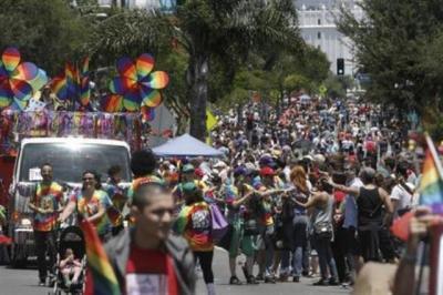 California gay pride parade