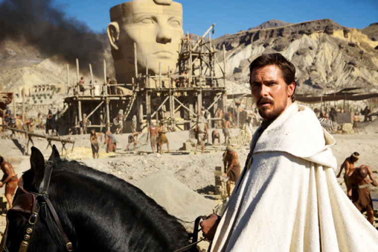 Christian Bale as Moses in 'Exodus'