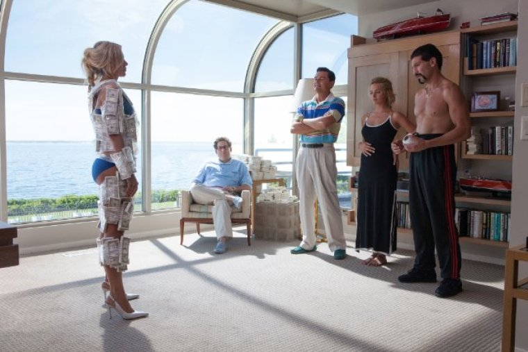 Smuggling Money in 'The Wolf of Wall Street'