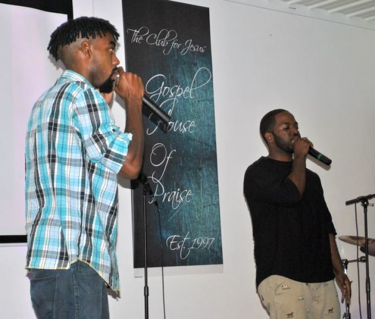 Local Gospel Rappers Shyne On Me and Stone