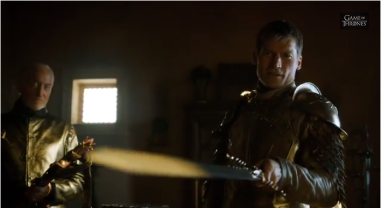 Jaime With Sword (Game of Thrones)