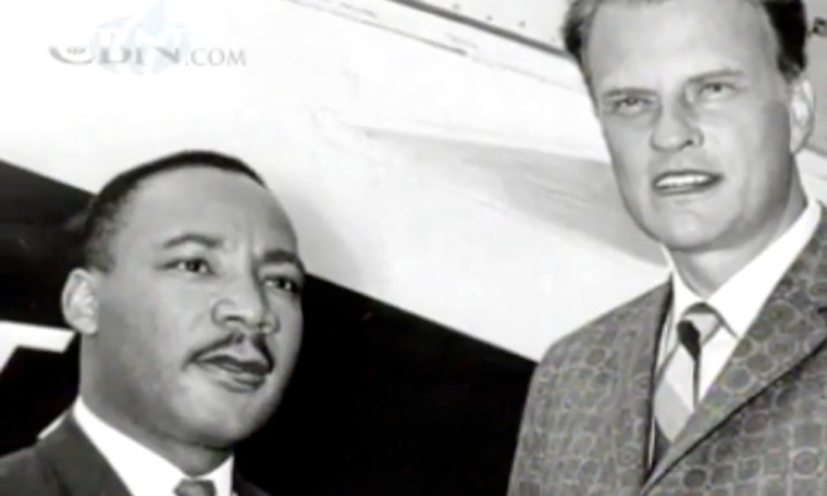 Martin Luther King, Jr. and Billy Graham