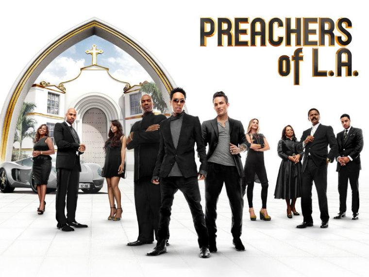 'Preachers of LA' logo