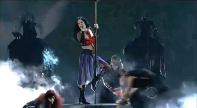 Katy Perry 'Satanic' Pole Dance