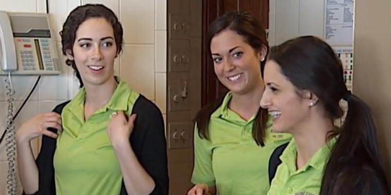 Amber Kariolich, Amy Sabani, Sarah Seckinger