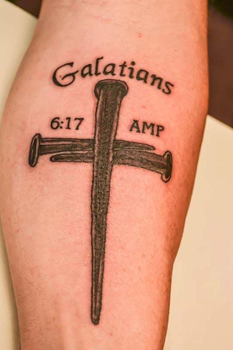 Galatians 6:17 tattoo