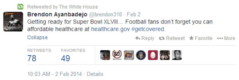 White House Retweet