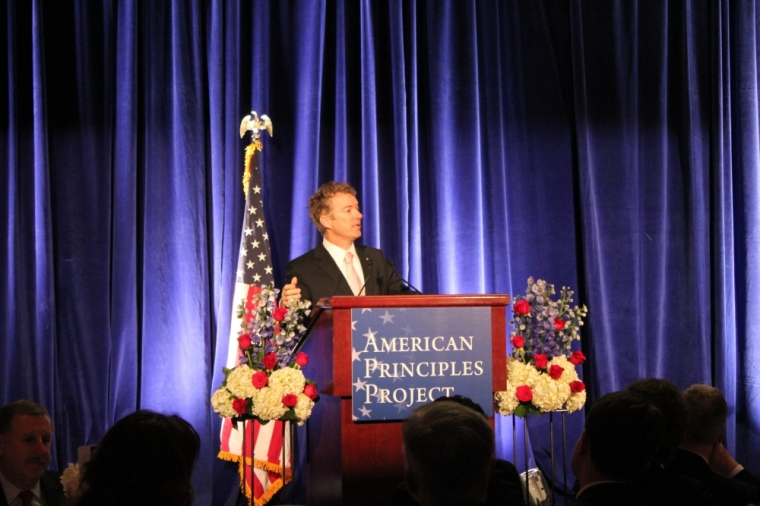 Rand Paul Speaks at The American Principles Project