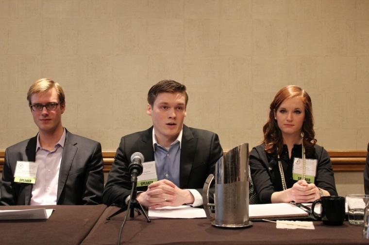 Jason Hughey, Christianity and Libertariansim Panel