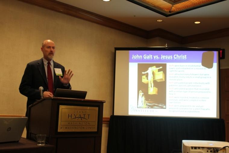 David Kotter, John Galt vs. Jesus Christ