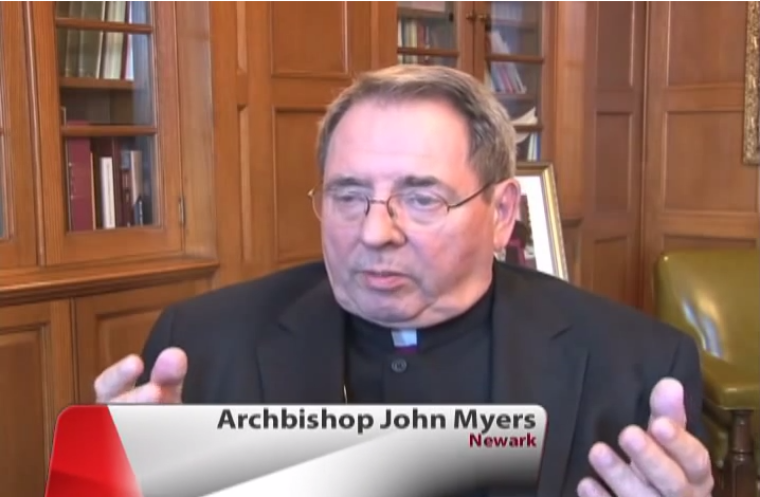 Archbishop of Newark, John J. Myers