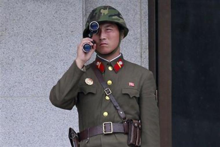 Soldier in North Korea