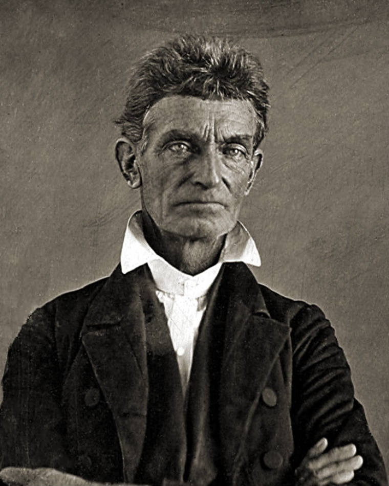 Christian abolitionist John Brown