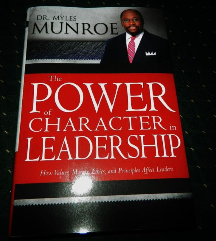 Pastor Myles Munroe Says Lack of Character Is Plaguing