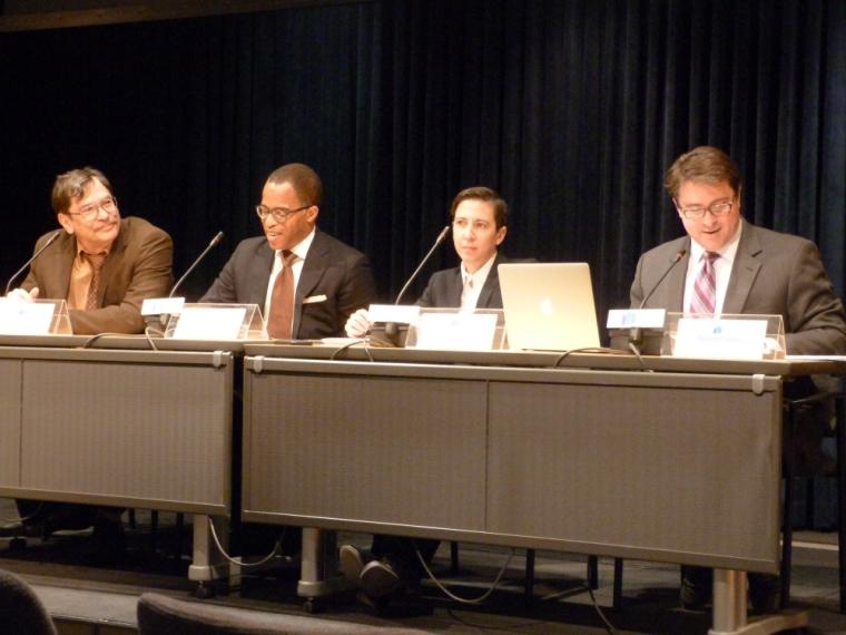 Dr. Clyde Wilcox, Jonathan Capehart, Dr. Jennifer Kates, Dr. Robert P. Jones