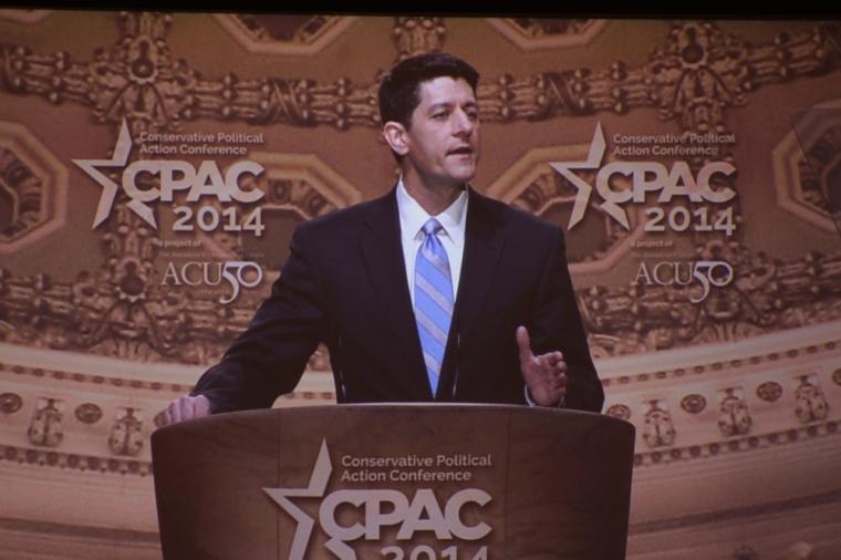Paul Ryan Speaks at CPAC