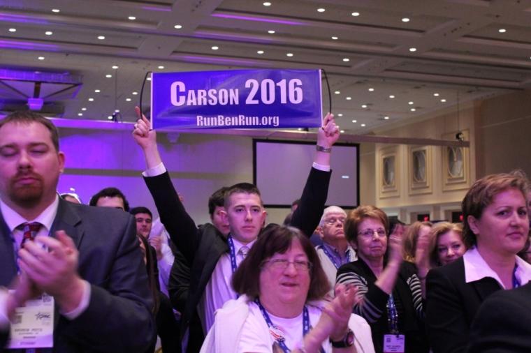 Ben Carson 2016 Sign