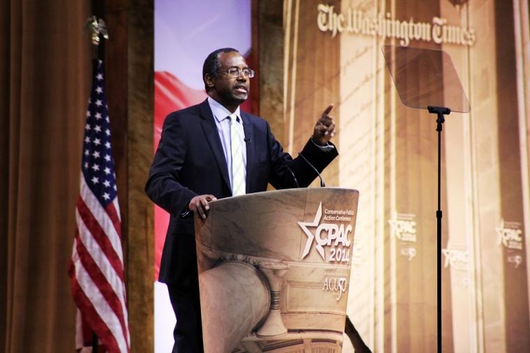 Ben Carson Speaks at CPAC