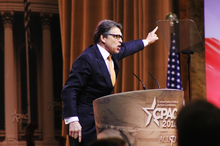 Texas Governor Rick Perry at CPAC