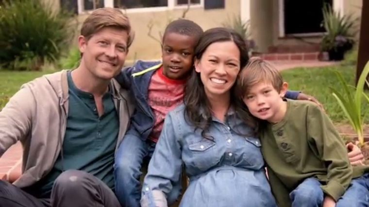 'Every Child Deserves a Family' is the tagline for Wendy's new adoption campaign.