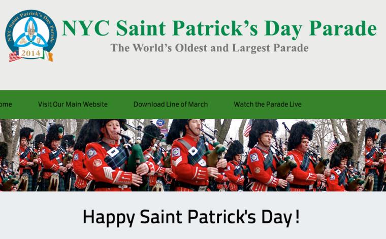 St Patrick's Day Parade 2014 New York City