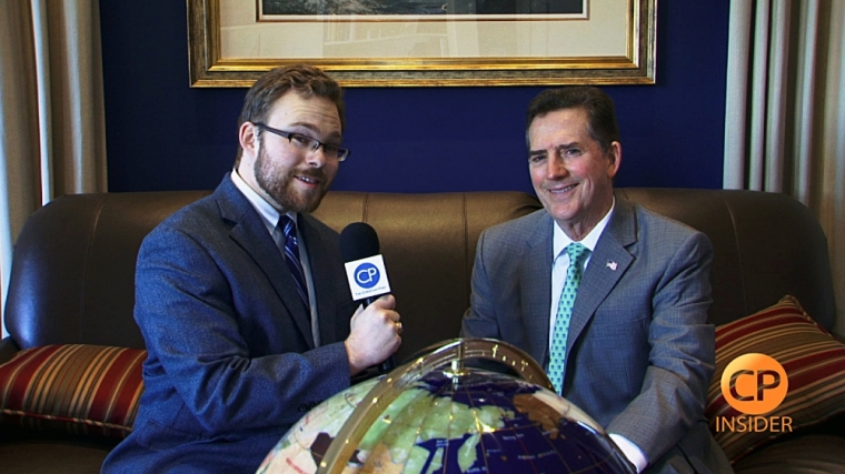 Jim DeMint Speaks With CP's Tyler O'Neil