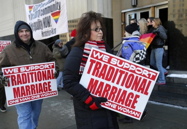 Michigan gay marriage same-sex marriage
