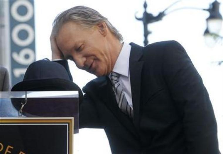 Comedian and atheist Bill Maher