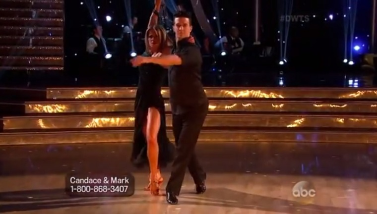 Dancing with the Stars Candace Cameron Bure