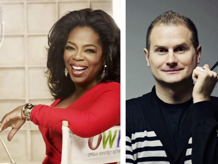 Oprah Winfrey and Rob Bell
