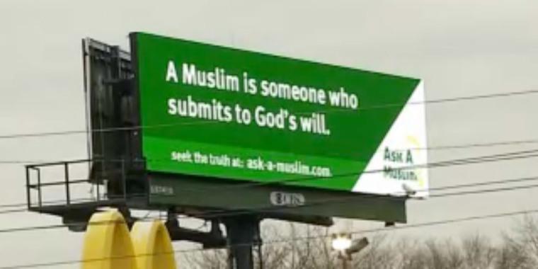 Ask-A-Muslim Billboard