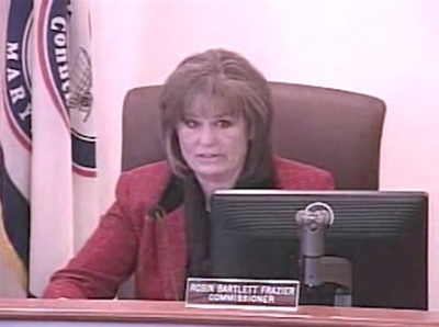 Robin Bartlett Frazier, commissioner of Carroll County, Md.