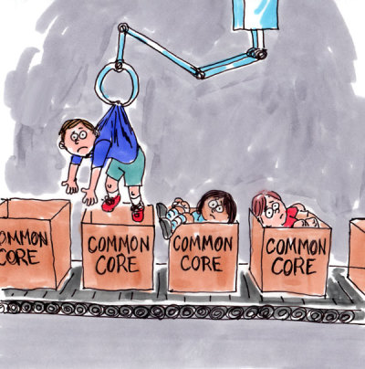 Common Core: Assembly-Line Education?