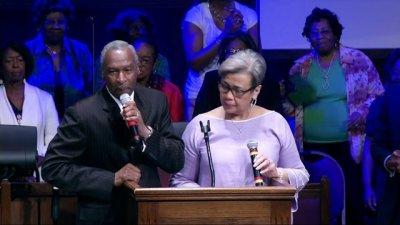 Reverend Floyd and Elaine Flake