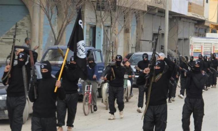 Jihadist group Isamic State of Iraq and the Levant
