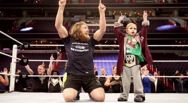 The WWE's Tribute to a Boy Who Died From Cancer Will Leave You in