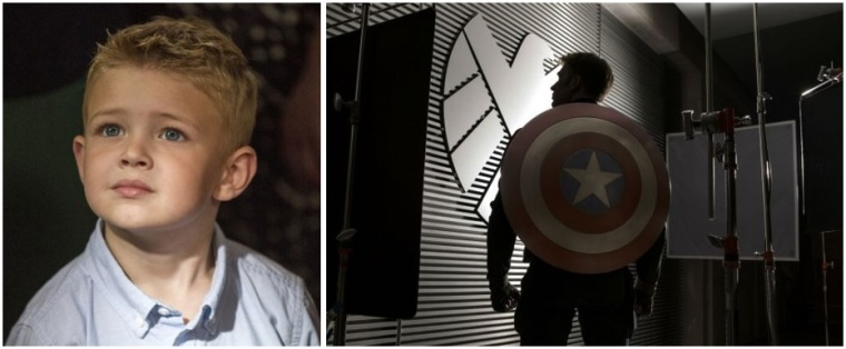 Heaven Is for Real Captain America