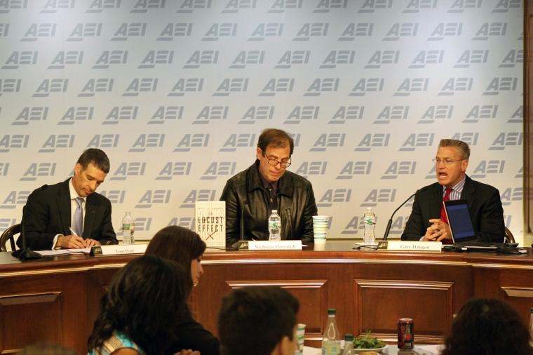 Gary Haugen, Tom Hart, Nicholas Eberstadt