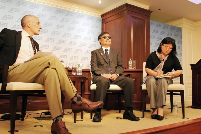 Arthur Brooks, Chen Guangcheng