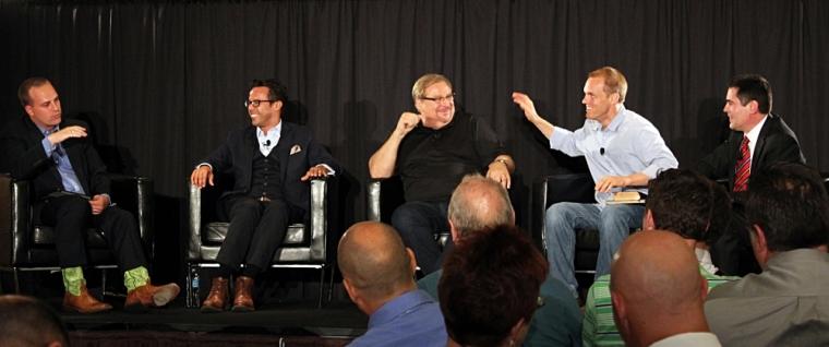 Phillip Bethancourt, Samuel Rodriguez, Rick Warren, David Platt and Russell Moore