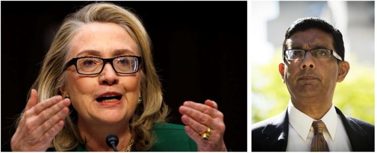 Hillary Clinton Dinesh D'Souza