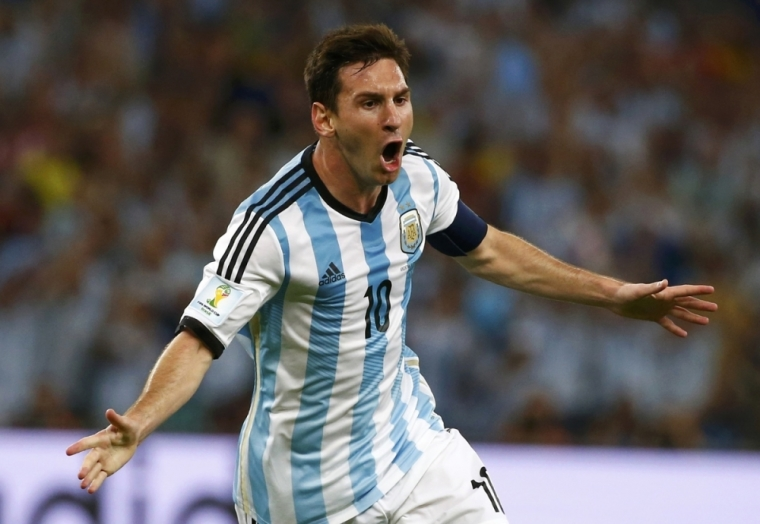 Argentina Lionel Messi World Cup 2014 Football Soccer